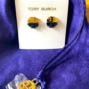 Tory Burch post earrings